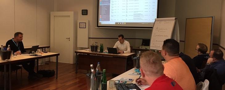 Technik und gute Argumente: Das war die Partner-Schulung in Nürnberg