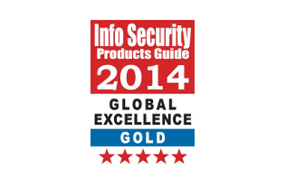 My Endpoint Protector, Gold-Gewinner in der Kategorie SaaS/Cloud Solutions, bei den 2014 Global Excellence Awards
