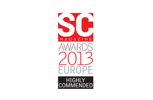 Endpoint Protector wird anlässlich der SC Magazine Awards Europe 2013 mit dem Highly Commended Award in der Kategorie beste DLP (Data Loss Prevention) ausgezeichnet
