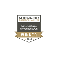 Endpoint Protector 4 gewinnt den 2016 Cybersecurity Excellence Awards in der Kategorie Data Leakage Prevention