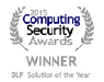 Endpoint Protector 4 wins the DLP Solution of the Year Award for the second year in a row at Computing Security Awards 2015
