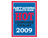 """CoSoSys wird für die Finalisten des """"2009 Hot Companies Award"""" von Network Products Guide nominiert"""